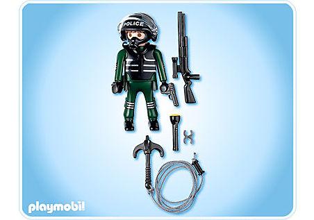 4693-A Policier unité spéciale  detail image 2