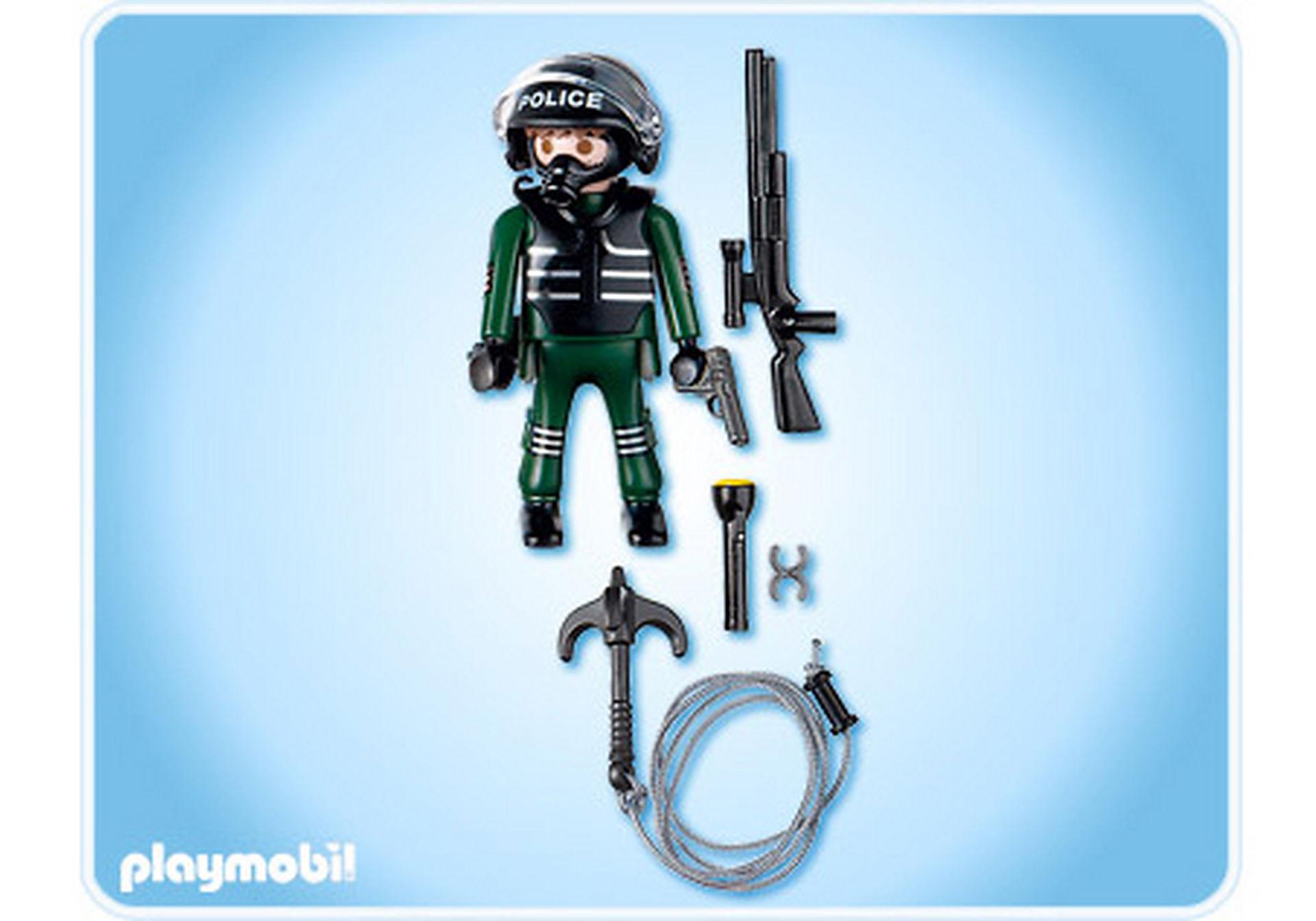 4693-A Policier unité spéciale  zoom image2