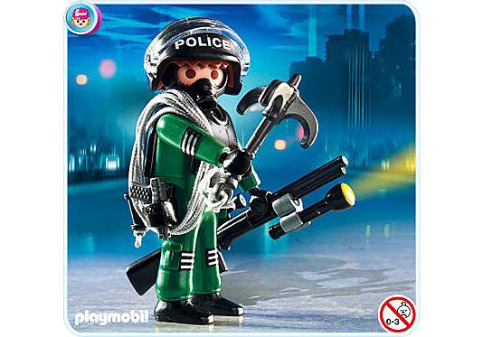 4693-A Policier unité spéciale  detail image 1