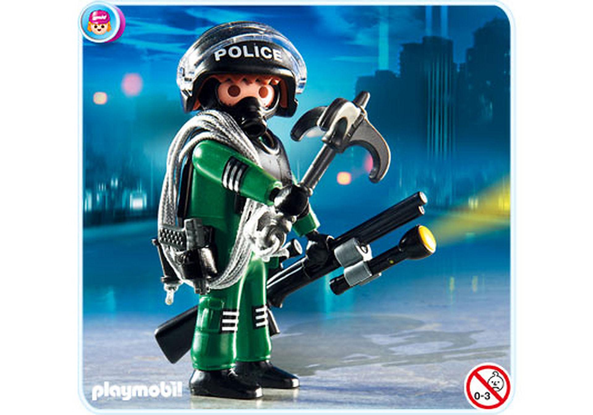 4693-A Policier unité spéciale  zoom image1