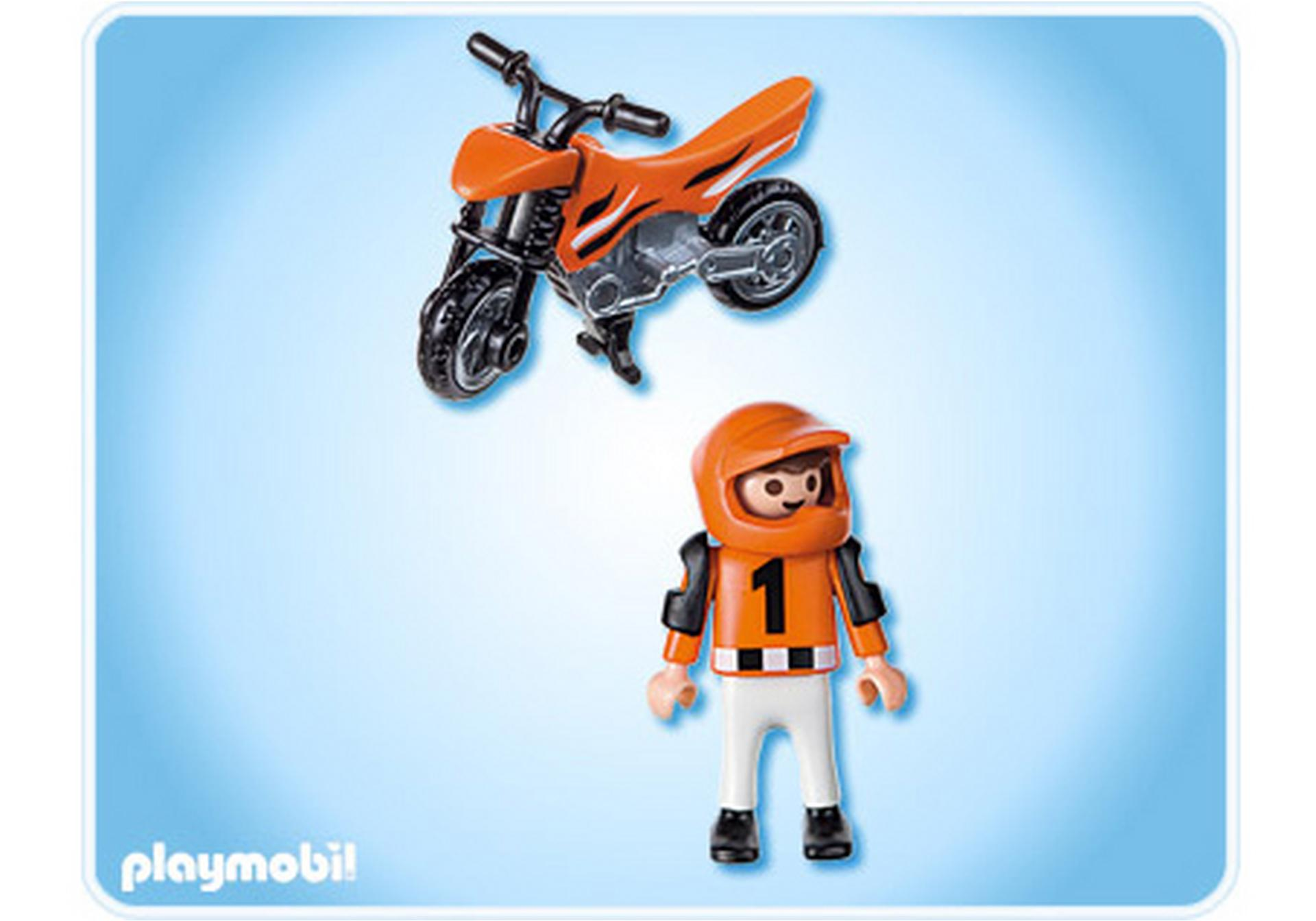 Enfant et motocross 4698 a playmobil france - Moto cross playmobil ...