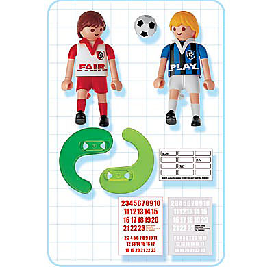 4702-A 2 Fußballspieler detail image 2