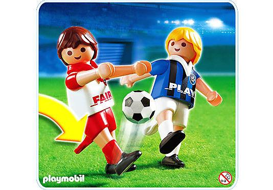 4702-A 2 Fußballspieler detail image 1