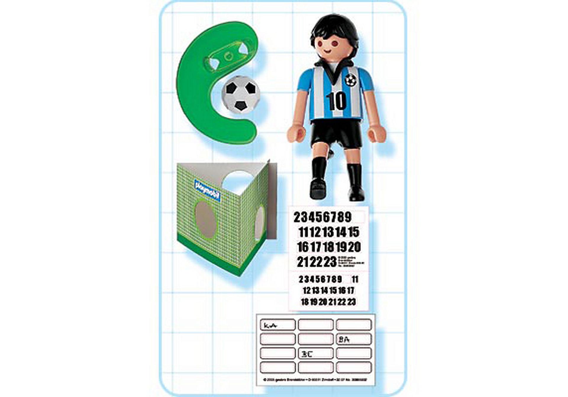 4705-A Fußballspieler Argentinien zoom image2