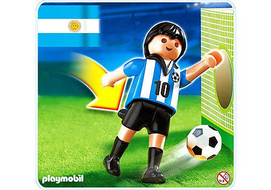4705-A Fußballspieler Argentinien detail image 1