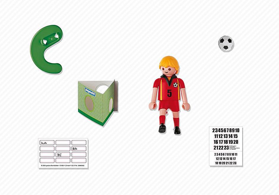 4706-A Fußballspieler Belgien detail image 2