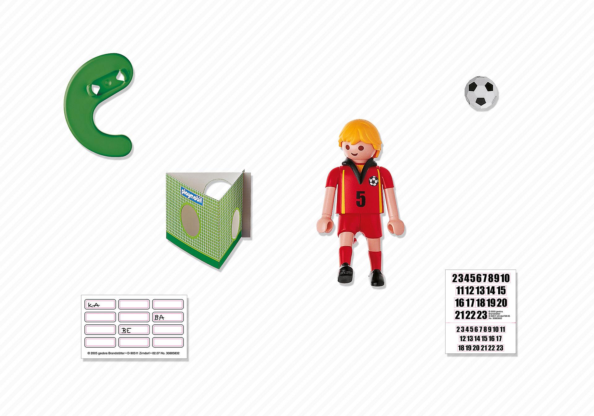 4706-A Fußballspieler Belgien zoom image2