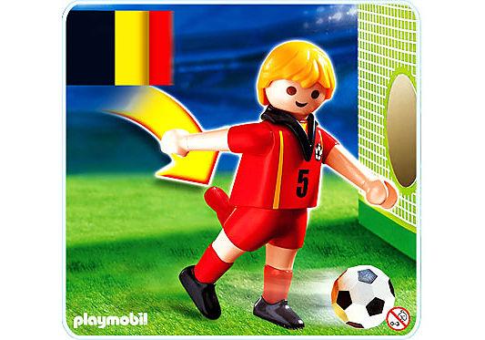 4706-A Fußballspieler Belgien detail image 1