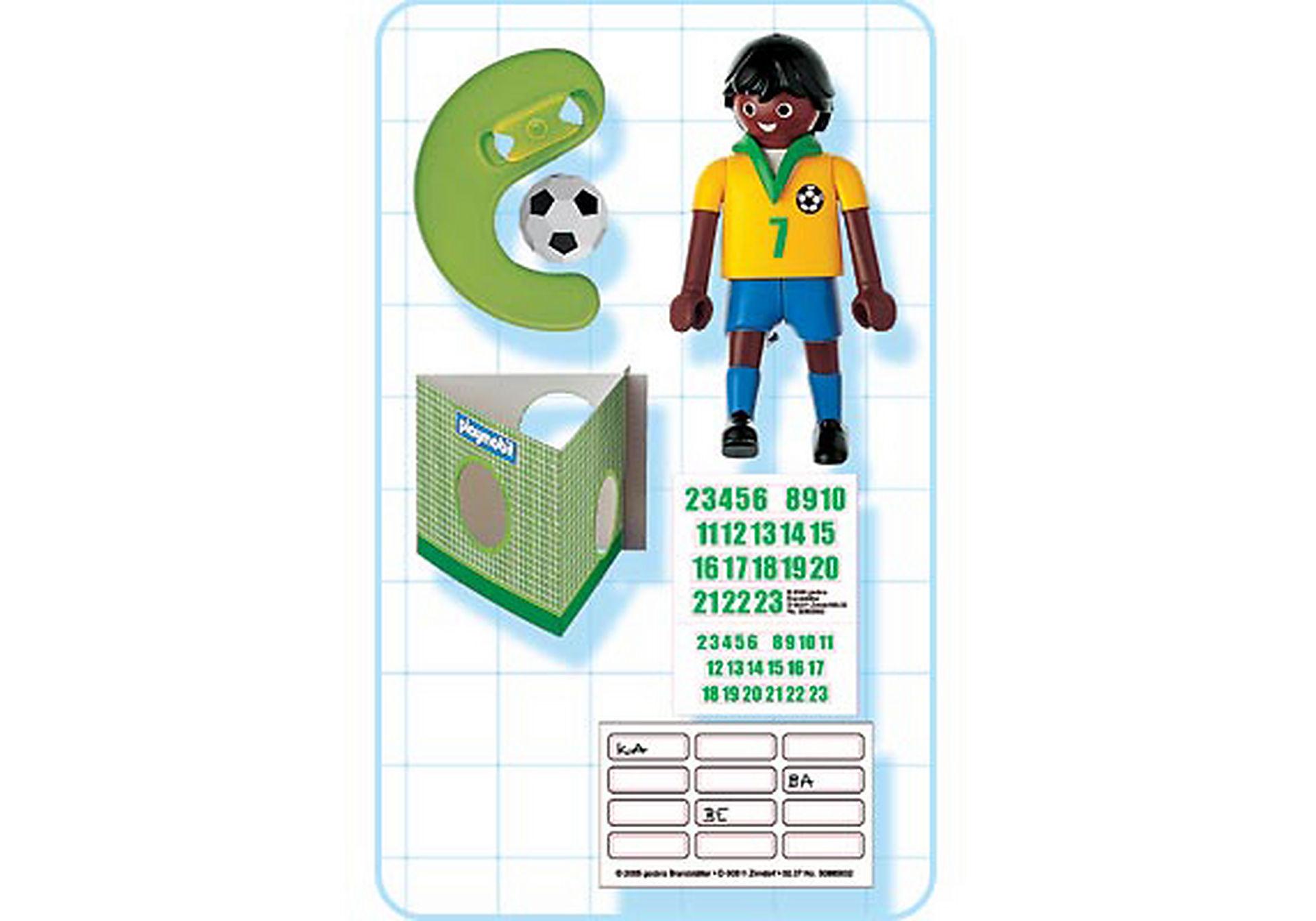 4707-A Fußballspieler Brasilien zoom image2