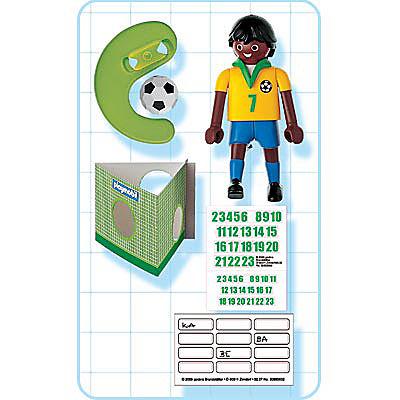 4707-A Joueur brésilien detail image 2