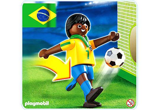 4707-A Fußballspieler Brasilien detail image 1