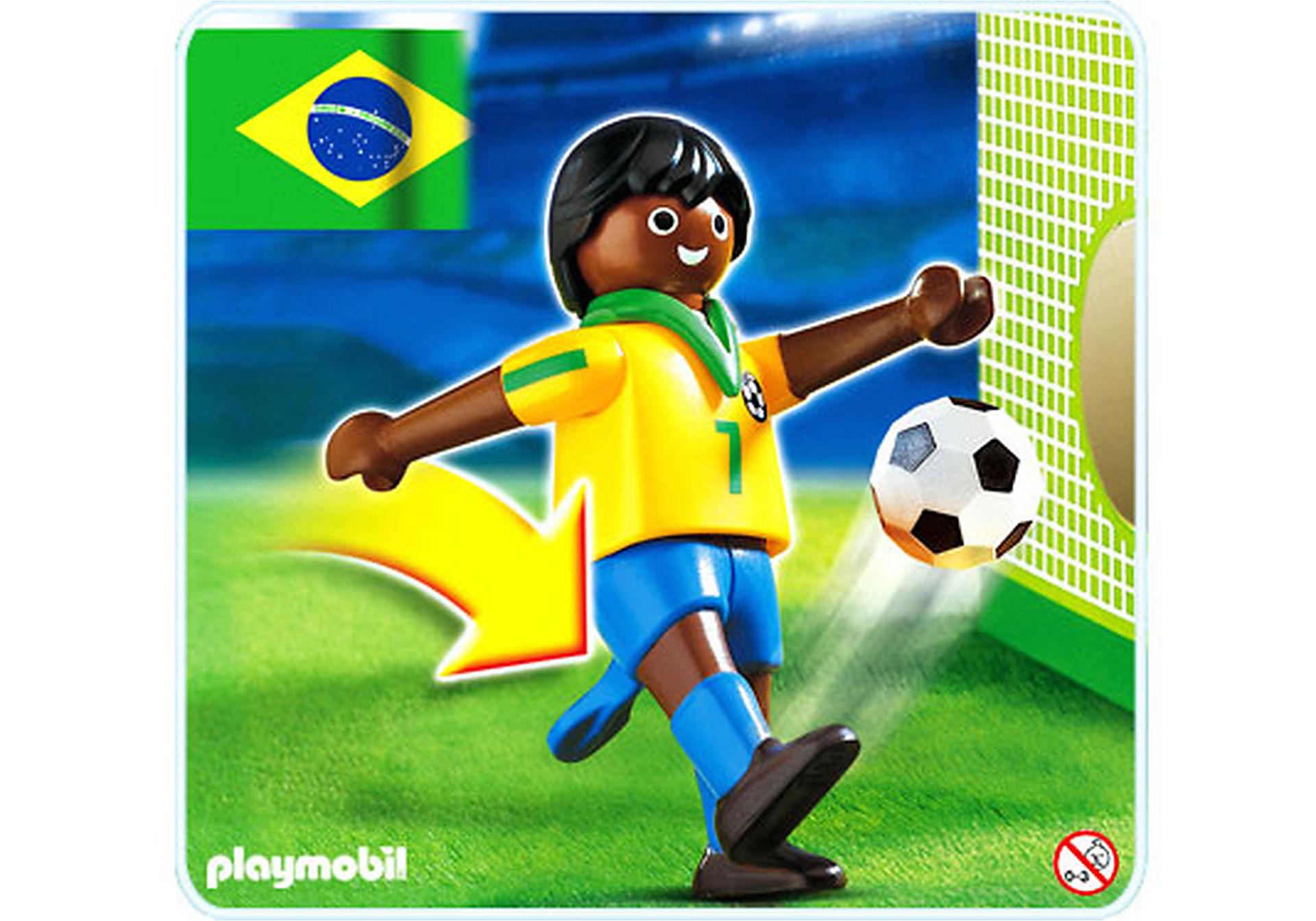4707-A Fußballspieler Brasilien zoom image1
