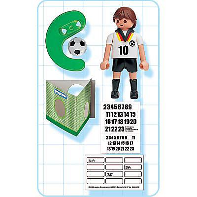 4708-A Fußballspieler Deutschland detail image 2