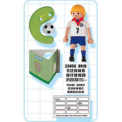 4709-A Fußballspieler England detail image 2