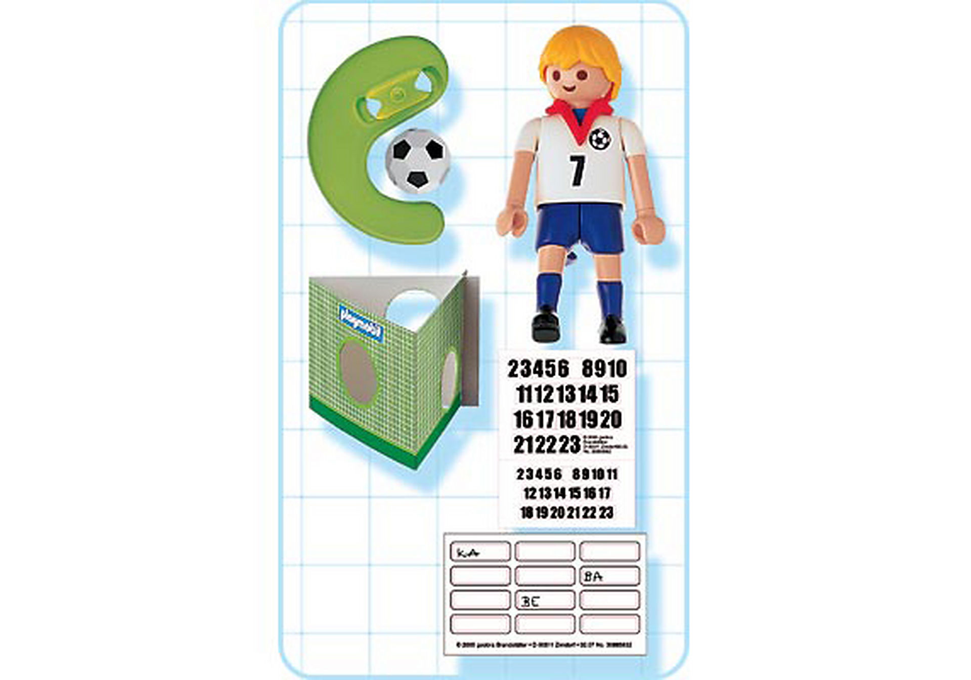 4709-A Fußballspieler England zoom image2