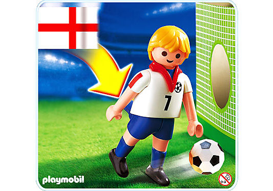 4709-A Fußballspieler England detail image 1