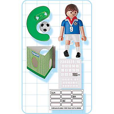 4710-A Fußballspieler Frankreich detail image 2