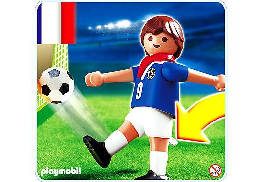 4710-A Fußballspieler Frankreich detail image 1
