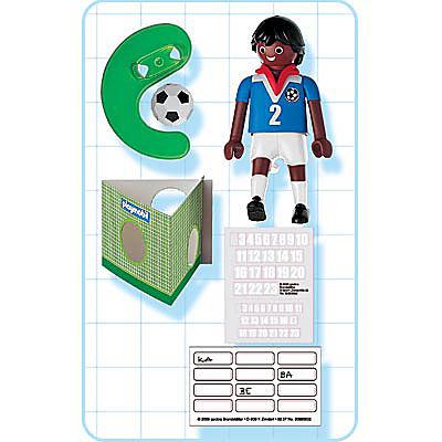 4711-A Fußballspieler Frankreich (farbig) detail image 2