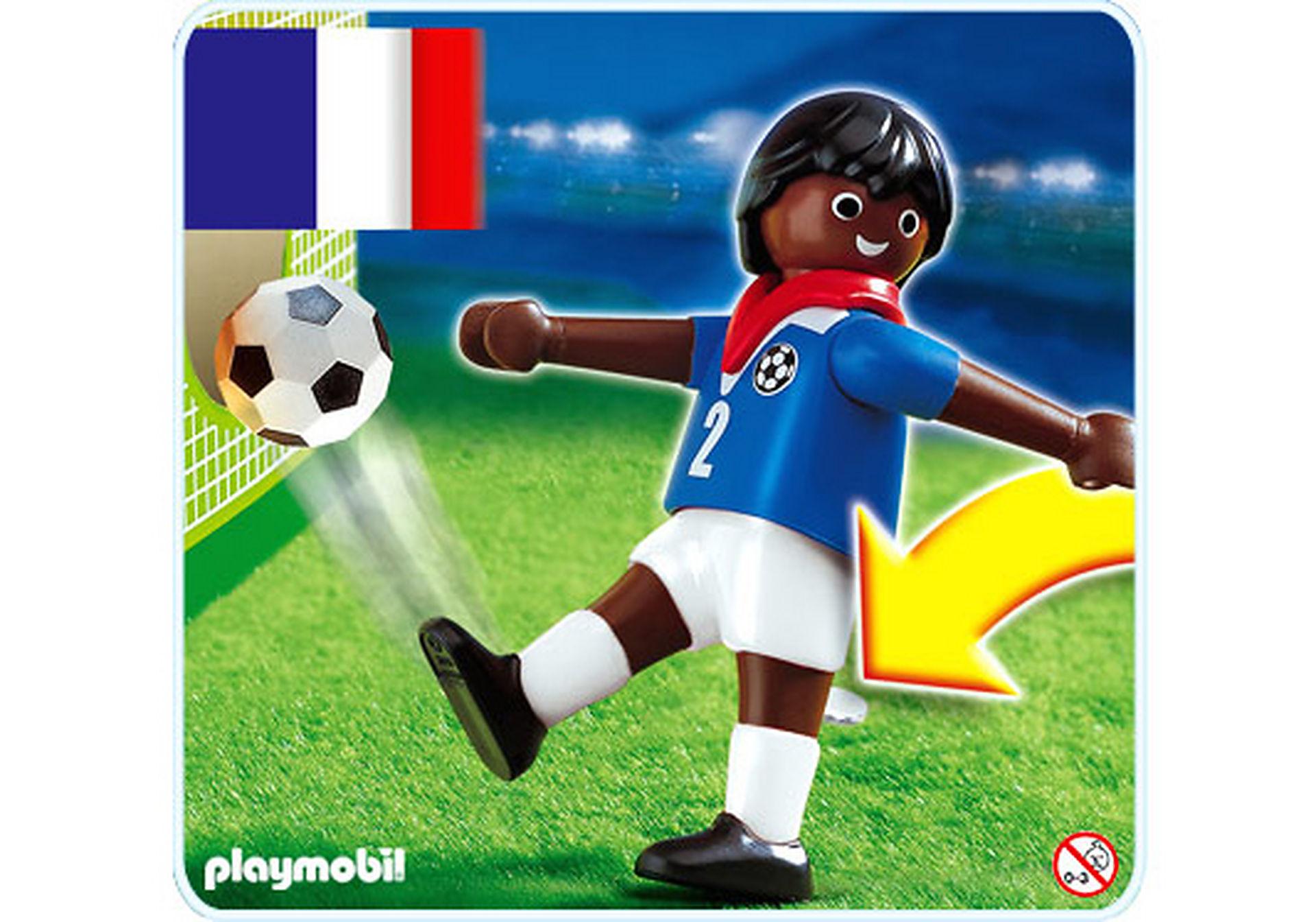 4711-A Fußballspieler Frankreich (farbig) zoom image1