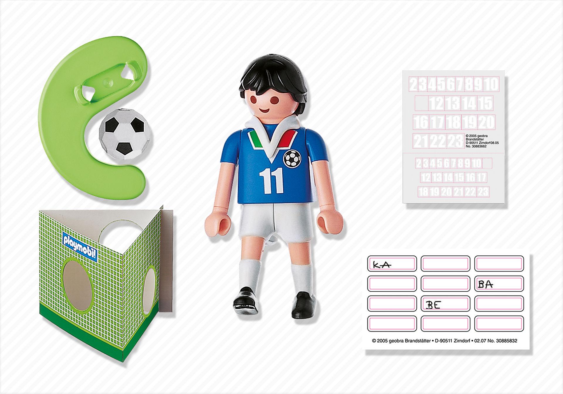 4712-A Joueur de football d`Italie zoom image2
