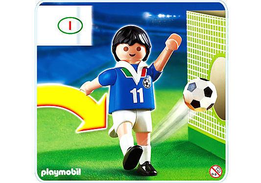 4712-A Fußballspieler Italien detail image 1