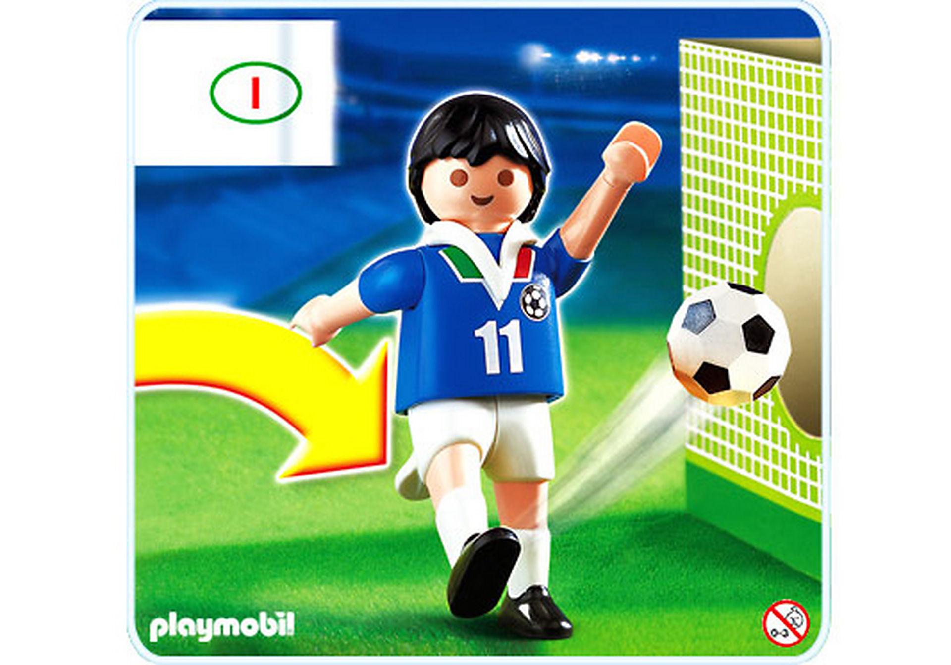 4712-A Joueur de football d`Italie zoom image1