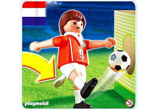 4713-A Fußballspieler Niederlande detail image 1