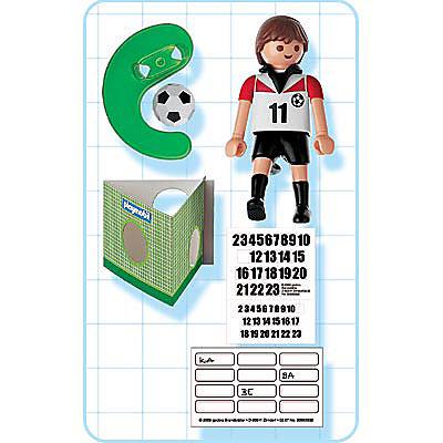 4714-A Joueur de football d`Autriche detail image 2