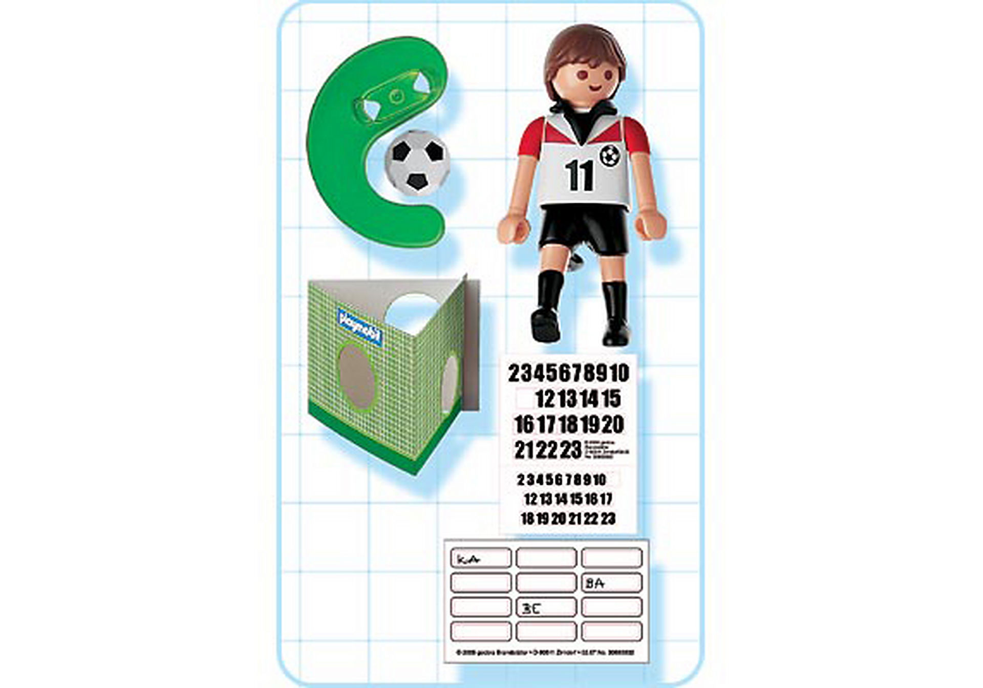 4714-A Joueur de football d`Autriche zoom image2
