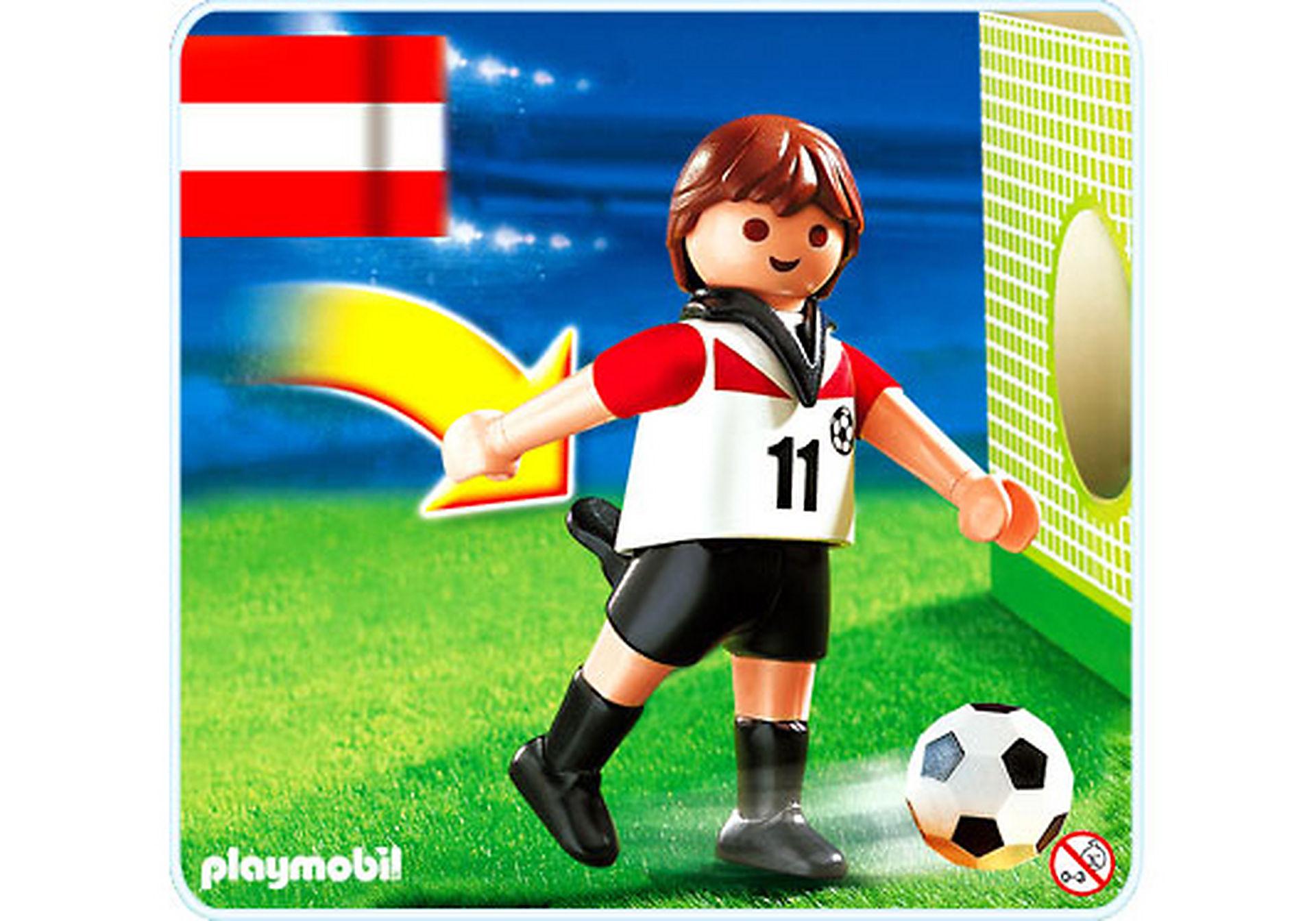 4714-A Joueur de football d`Autriche zoom image1