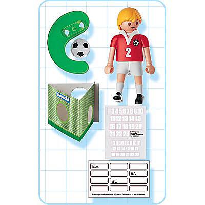 4715-A Fußballspieler Schweiz detail image 2