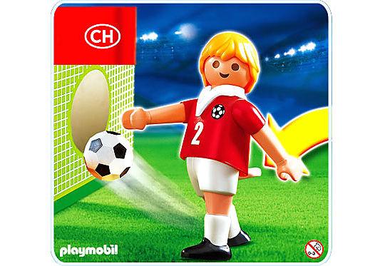 4715-A Joueur de football de la Suisse detail image 1