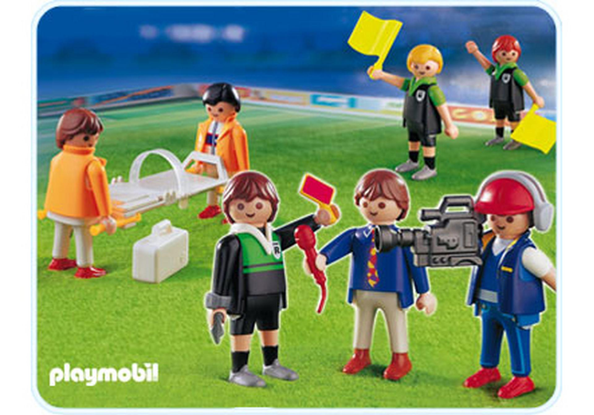 Arbitres journalistes et m decins 4717 a playmobil for Playmobil buanderie