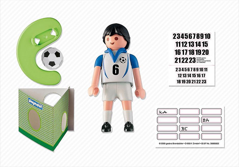 4718-A Fußballspieler Griechenland detail image 2