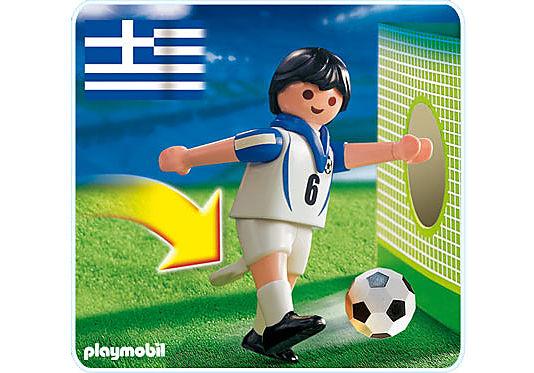 4718-A Fußballspieler Griechenland detail image 1