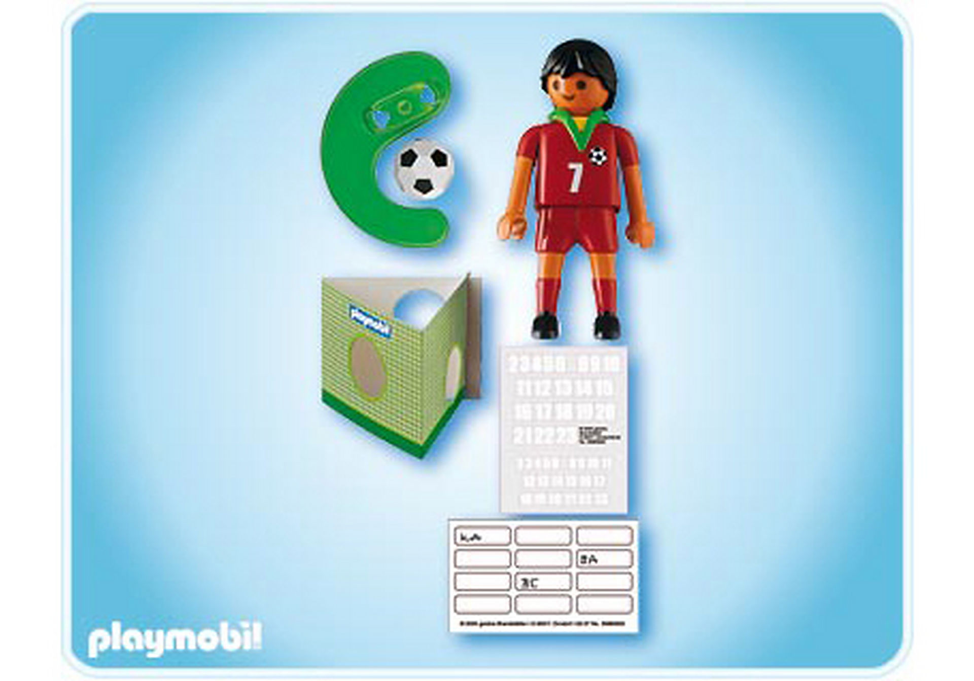 4720-A Fußballspieler Portugal zoom image2