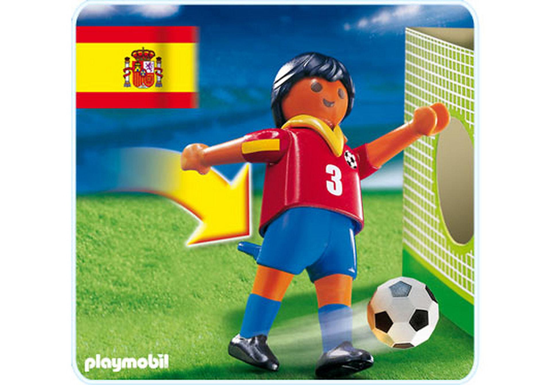 4721-A Fußballspieler Spanien zoom image1