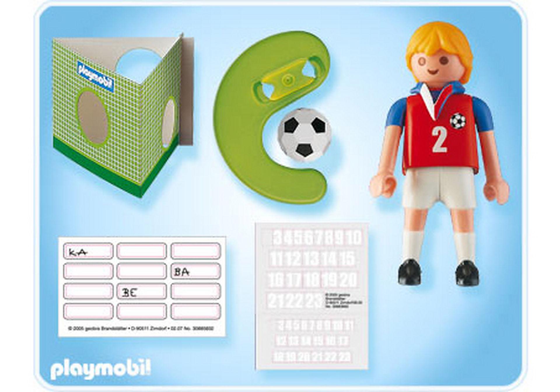 4722-A Fußballspieler Tschechien zoom image2