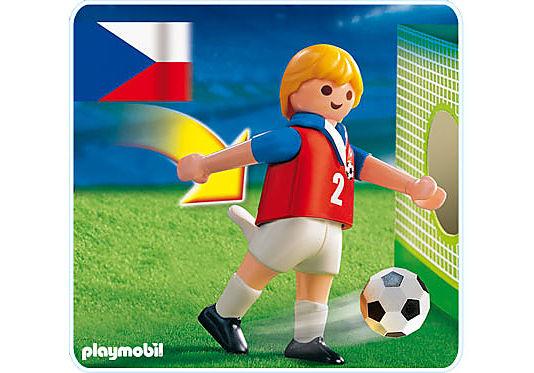 4722-A Fußballspieler Tschechien detail image 1