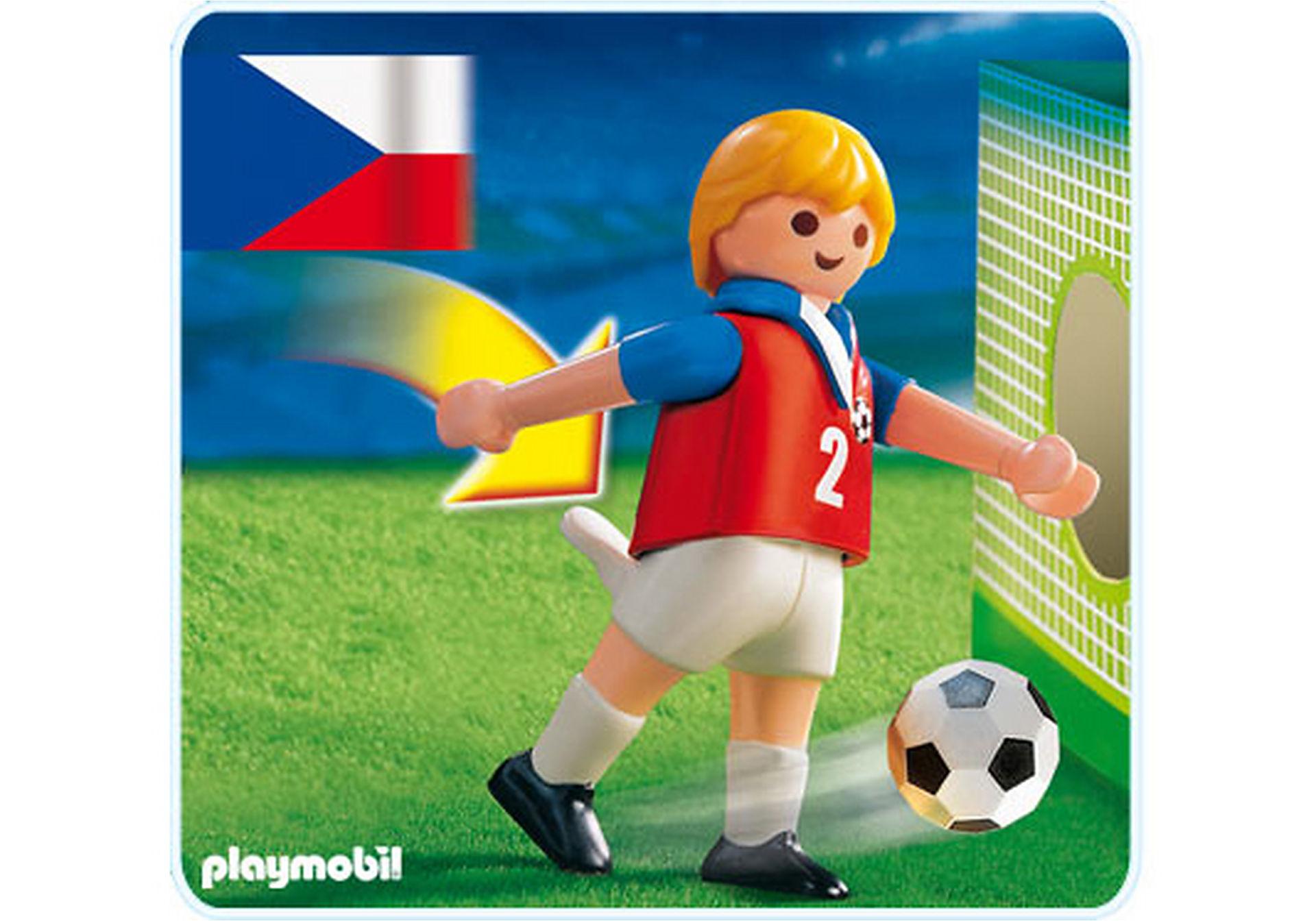 4722-A Fußballspieler Tschechien zoom image1