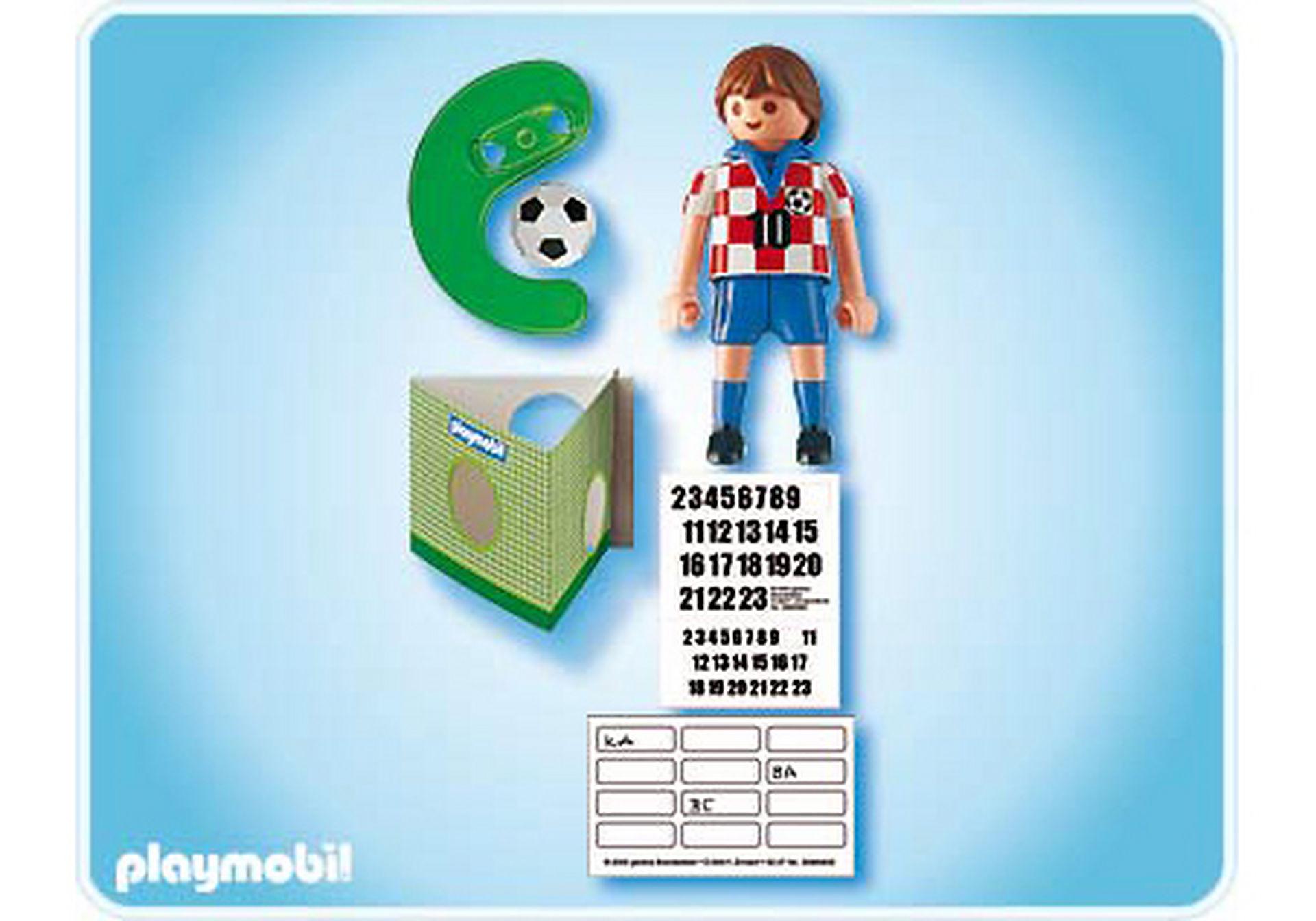 4723-A Fußballspieler Kroatien zoom image2