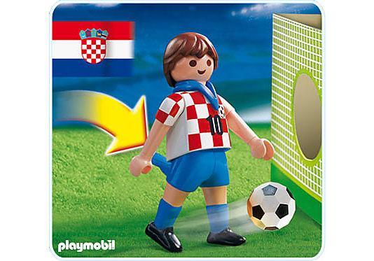 4723-A Fußballspieler Kroatien detail image 1