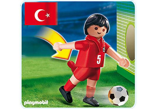 4724-A Fußballspieler Türkei detail image 1