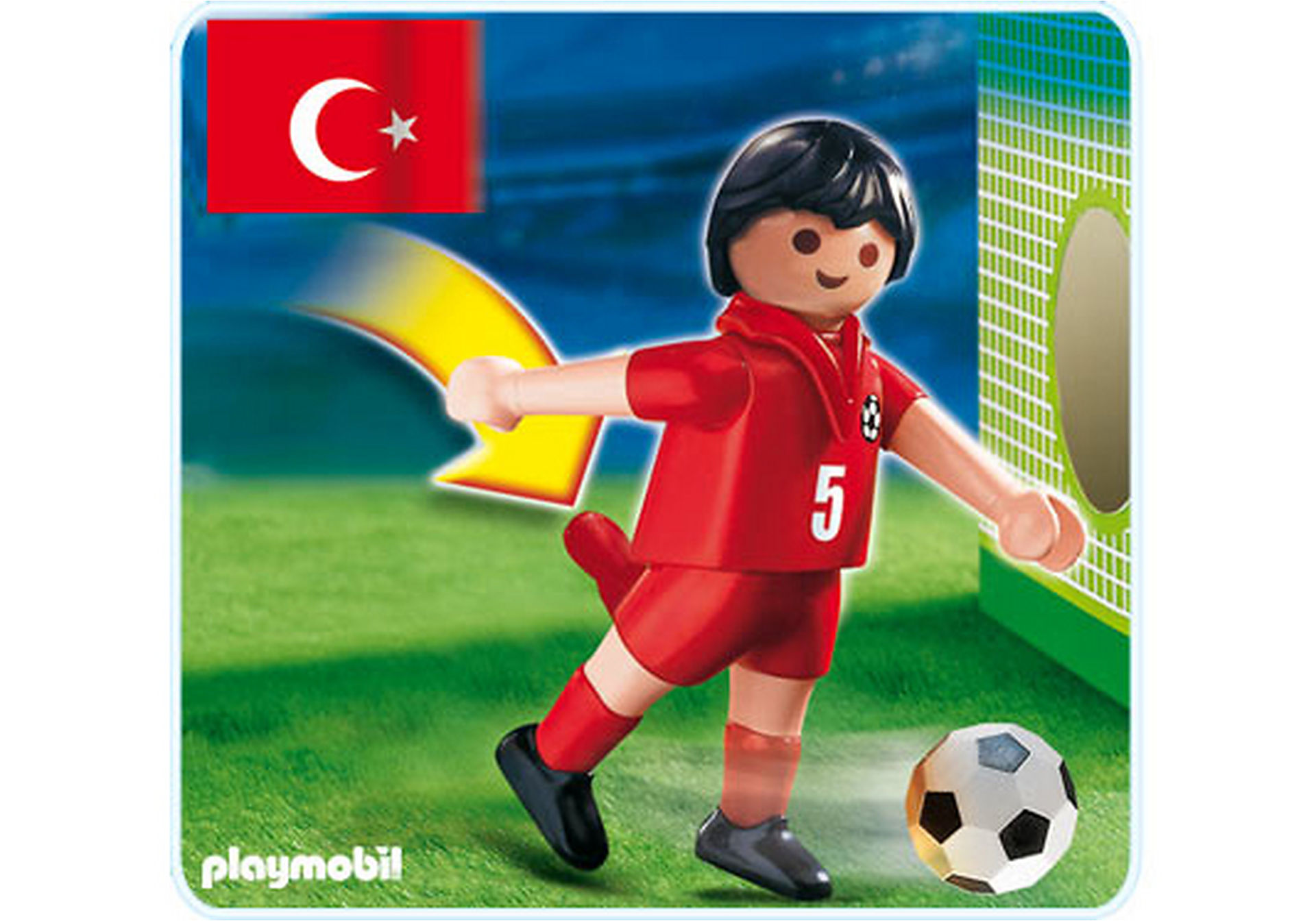 4724-A Joueur de football Turc zoom image1