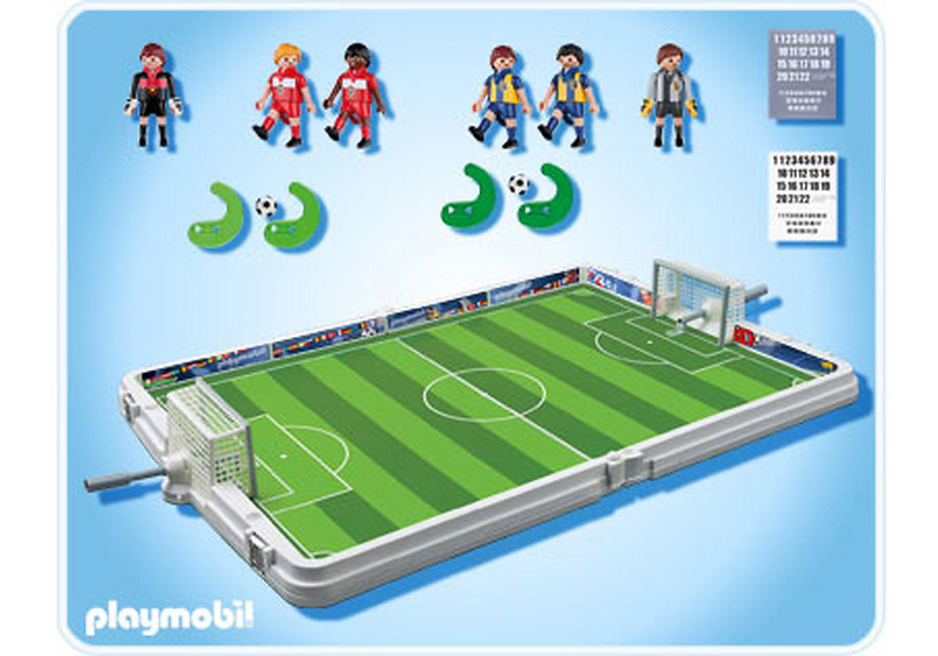 4725-A Große Fußball-Arena im Klappkoffer zoom image2