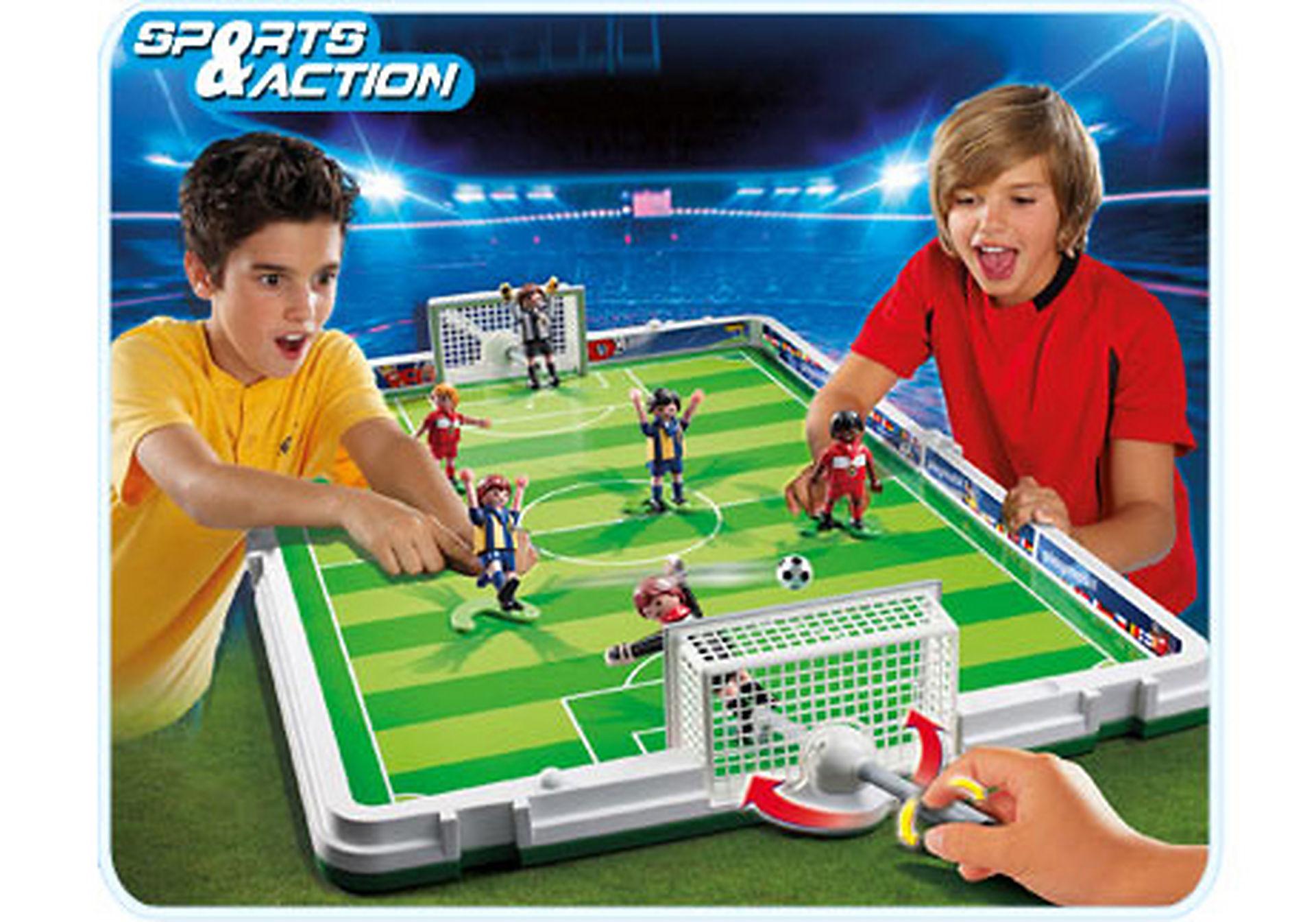 4725-A Große Fußball-Arena im Klappkoffer zoom image1