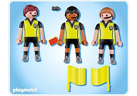 4728-A Schiedsrichter mit Assistenten detail image 2