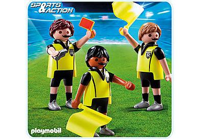 4728-A Schiedsrichter mit Assistenten