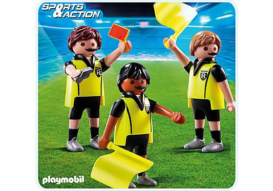 4728-A Schiedsrichter mit Assistenten detail image 1
